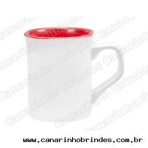 Caneca Ceramica Retangular Personalizada  295ml