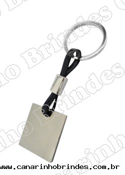 Chaveiro de Metal c/ Cordão Emborrachado 4096