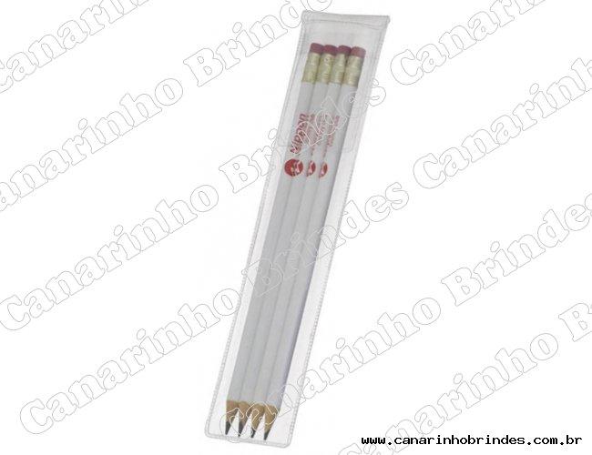 Lápis c/ Estojo Envelope Escolar 577