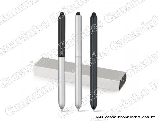 Caneta Esferográfica Touch em alumínio