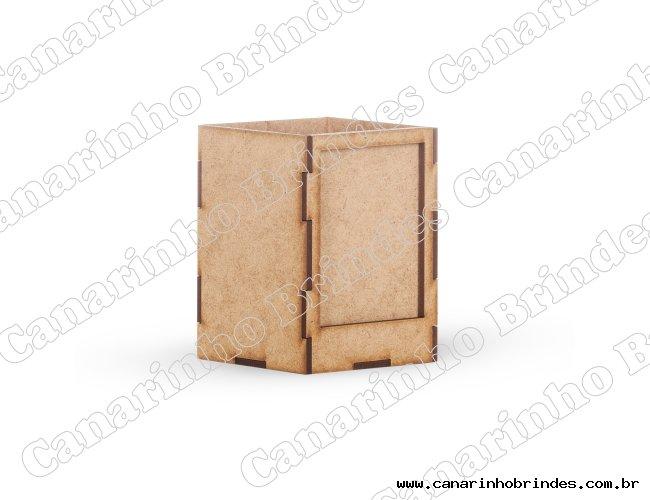 Porta Caneta MDF com Porta Foto