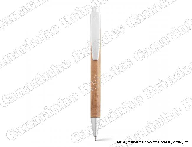 Caneta Bambu  Esferográfica Personalizada