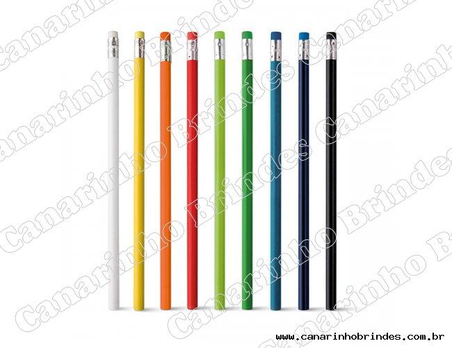 Lápis com Borracha Colorida 593