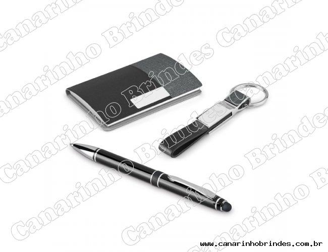 Kit Luxo caneta porta cartão-426