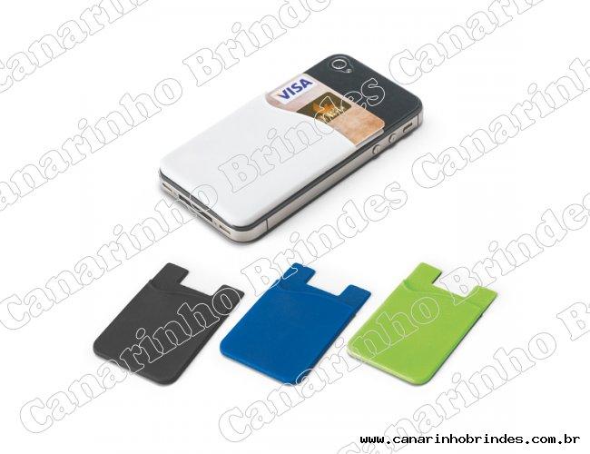 Porta Cartão de Silicone para Celular-3527