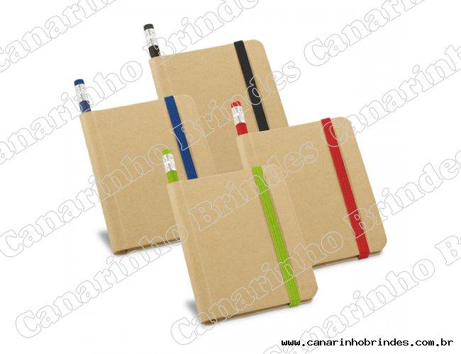 Bloco de Anotações c/ Lápis Colorido - 1371