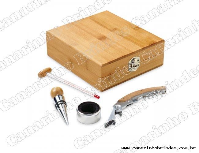kit vinho de Bambu  -6025