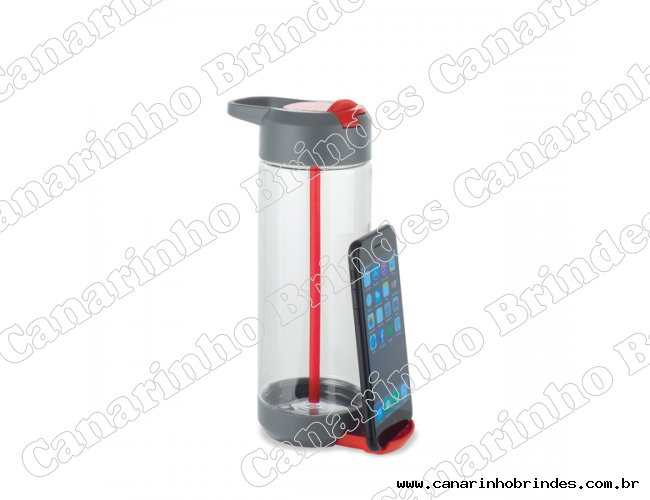 Squeeze 750ml Com Suporte Para Celular - 3709