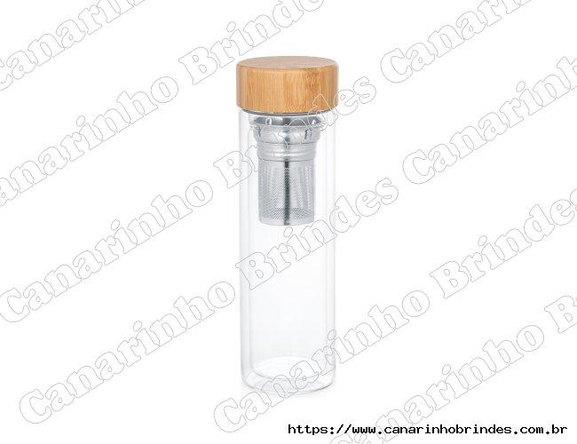 Garrafa Personalizada com infusores 490 ml