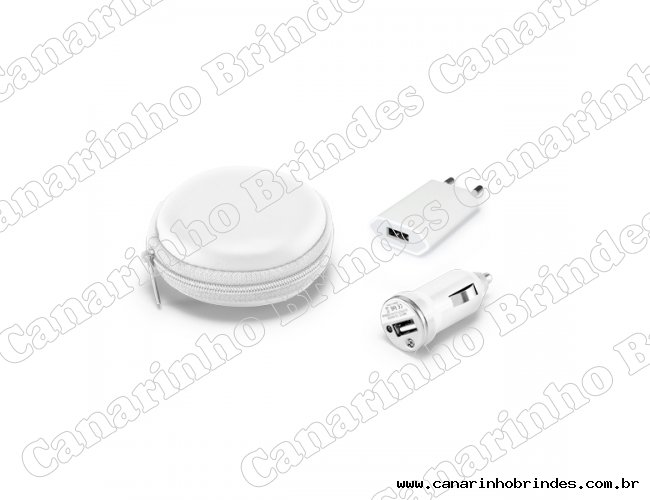 Kit de carregadores USB-3882