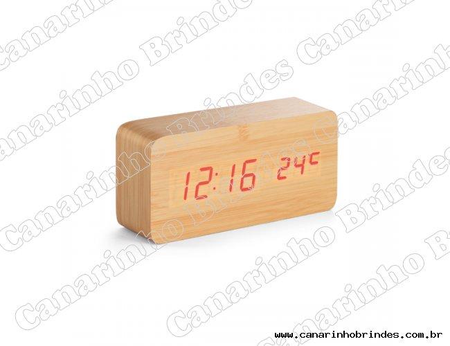 Relógio em MDF com calendário