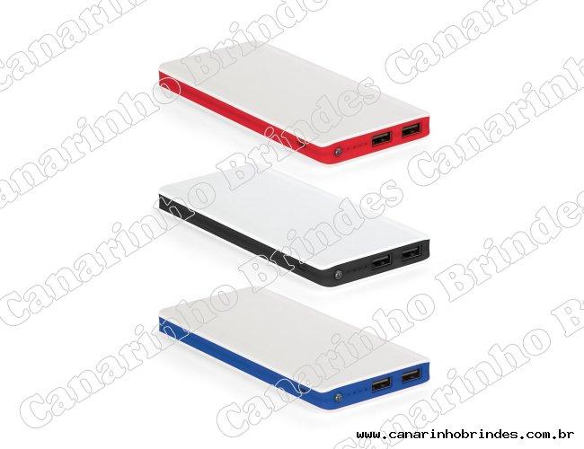 Bateria portátil em ABS com LED Personalizada