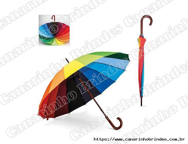 Guarda-chuva Colorido Personalizada
