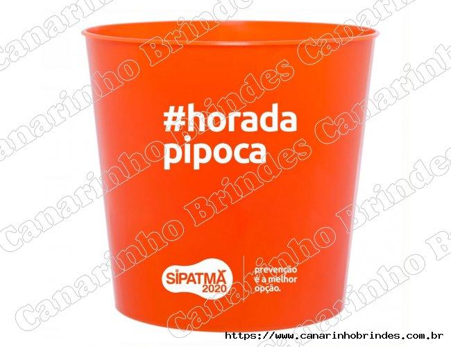 Balde Personalizado de Pipoca 2,6