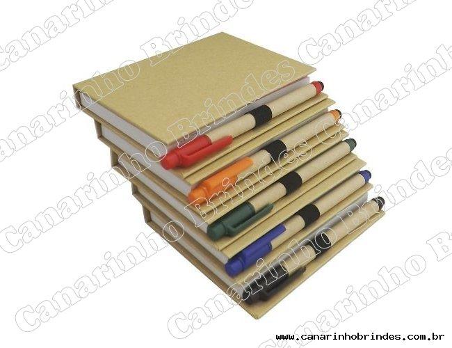 Bloco de Anotações c/ Caneta para Tablet - 1355