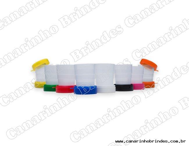 Copo Retrátil Porta Comprimido -200ml 1246