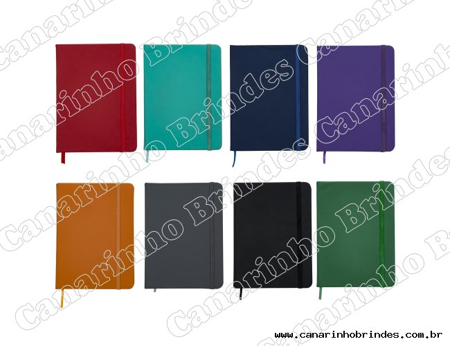 Caderneta tipo Moleskine-1387