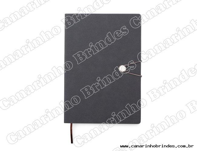 Caderneta Tipo Moleskine com Fecho-1388