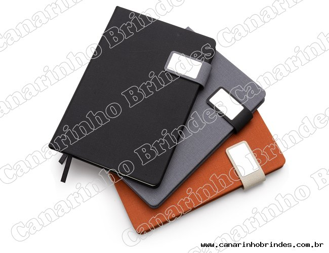 Caderno com Fecho Magnético