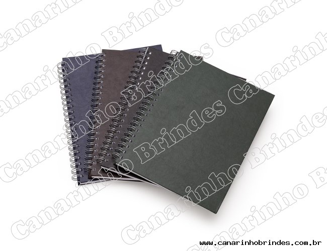 Caderno Capa Couro Sintético - 4804