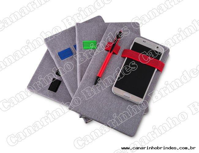 Caderno Porta Celular e Caneta 4817