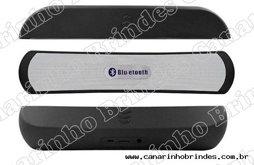 Caixa de Som Bluetooth, entrada USB e Rádio - 3116