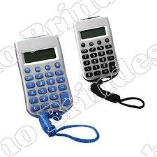 Calculadora com cordão-5106