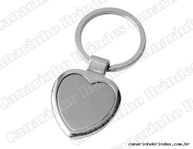 Chaveiro Coração de Metal 4065
