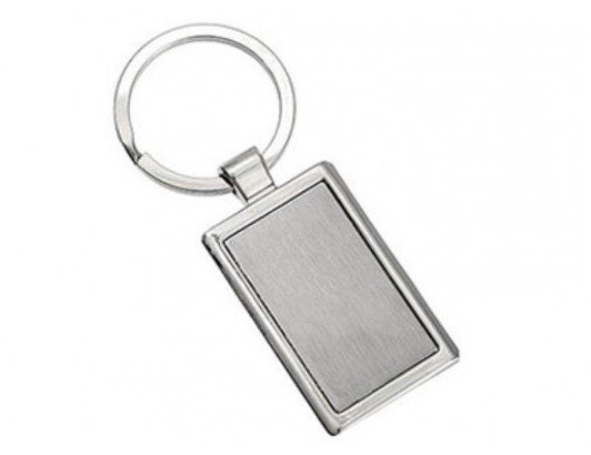 Chaveiro de Metal Retangular 4055