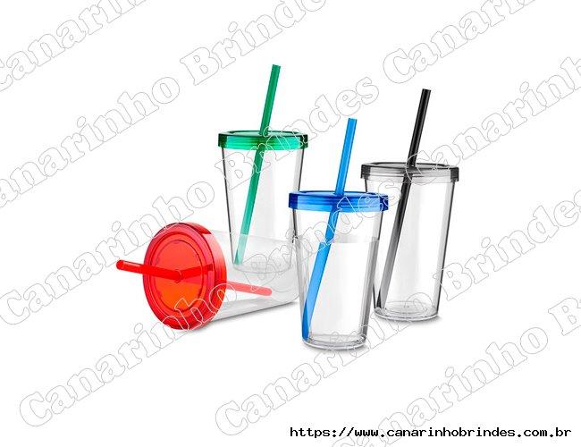 Copo Personalizado Plástico 600ml