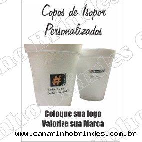 Copo de Isopor Térmico Café  -1233