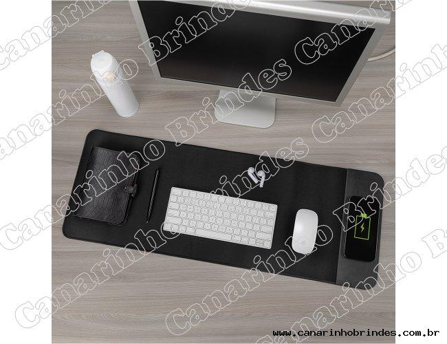 Desk Pad com carregamento por indução Personalizado