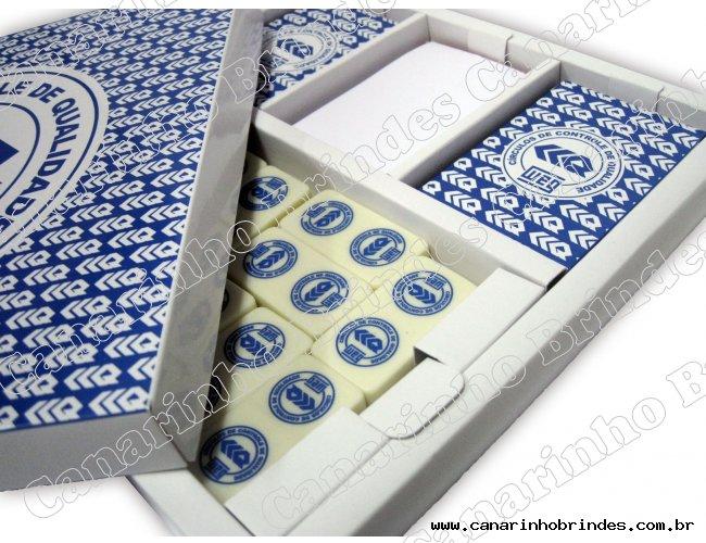 Baralho com dominó-1953