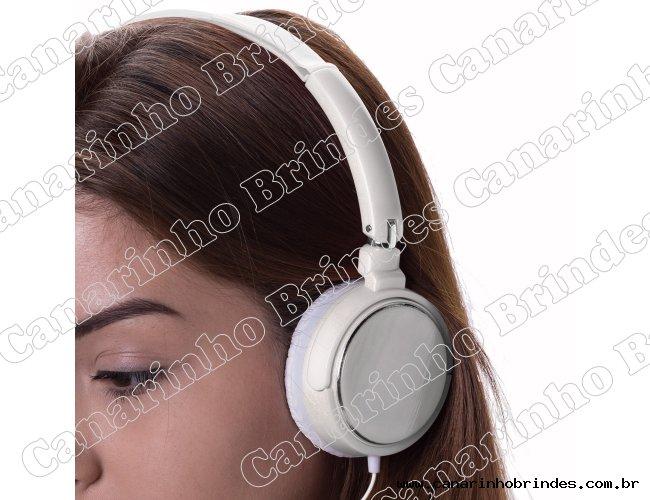 Fone de Ouvido  Personalizado Estéreo