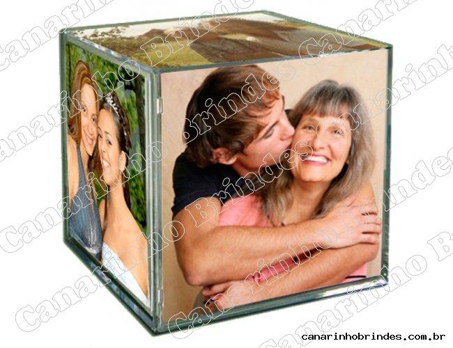 Porta Retrato Cubo Acrílico  4611