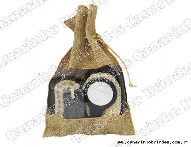 Kit Banho Ecológico com 4 Peças 4324