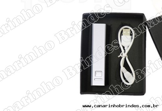 Kit Carregador Power Bank+caixa 3872