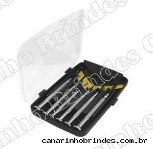 Kit Ferramenta 06 Peças de Metal 4720