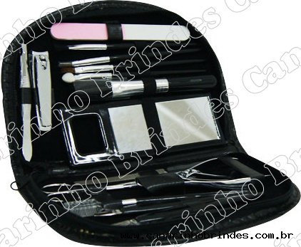 Kit Manicure 18 Peças 4332
