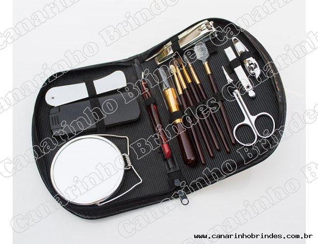 Kit Manicure 15 Peças 4335
