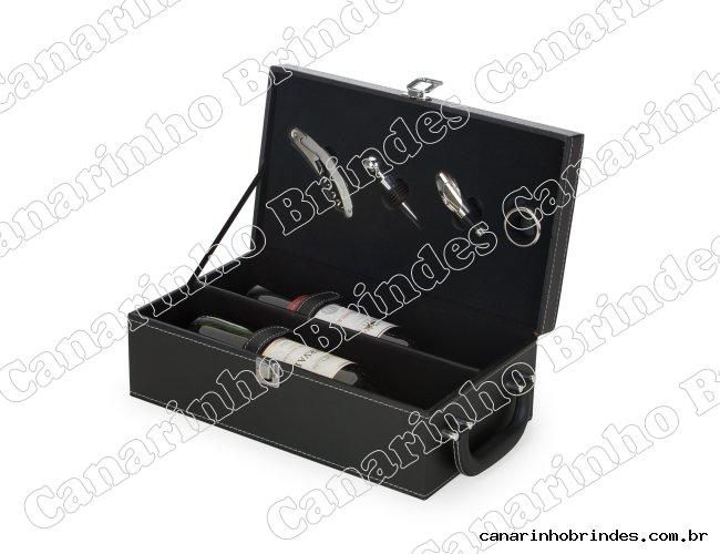 Kit Vinho 4 Peças com 2 Repartições - 6021