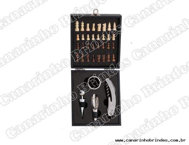Kit Vinho Xadrez 4 peças-6026