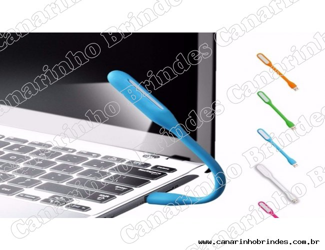 Luminária USB Emborrachada 4752