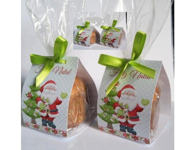 Kit Natal - Mini Panetone embalado - CA2994