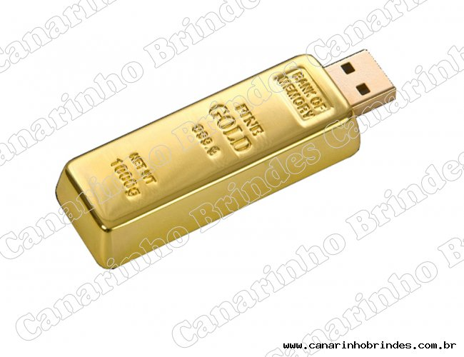 Pen Drive Ouro 3025