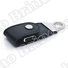 Pen Drive Couro c/ Botão 3013