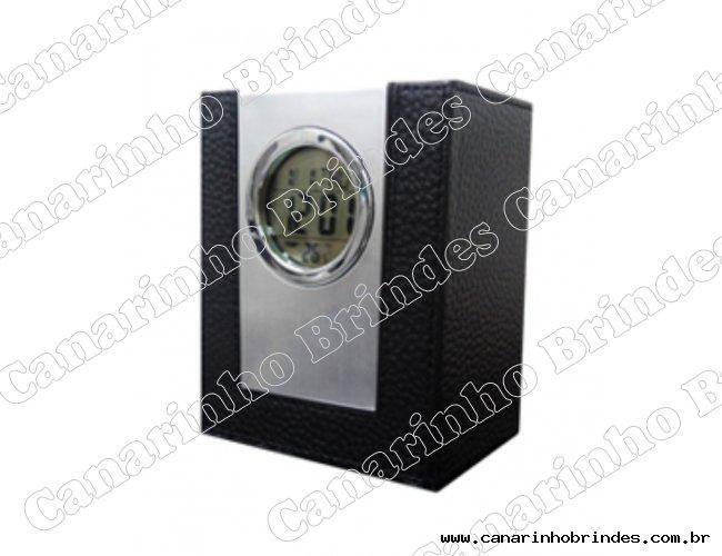 Porta Caneta com Relógio - 3202