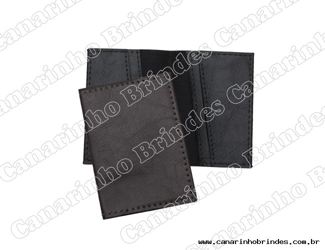 Porta Cartão Couro Sintético 3525
