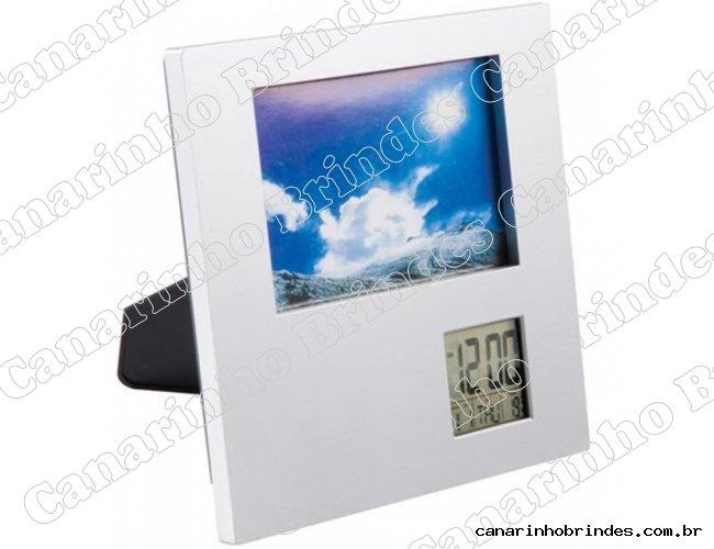 Porta Retrato com Relógio 4606