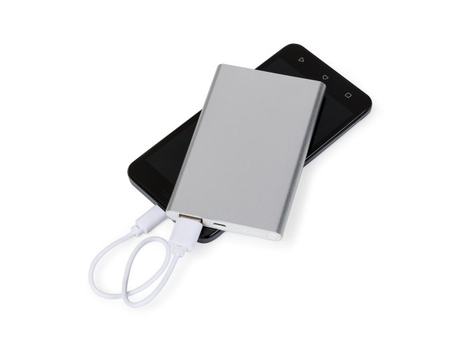 Power Bank de Metal c/ Led 2000mAH 3871
